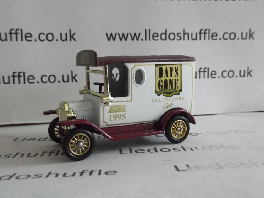 DG06133, Model T Ford Van, Collectors Club 1995