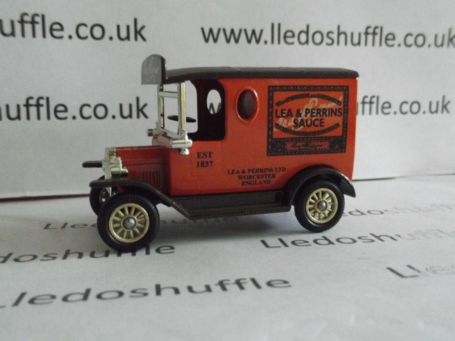DG06138, Model T Ford Van, Lea & Perrins Sauce, EKC