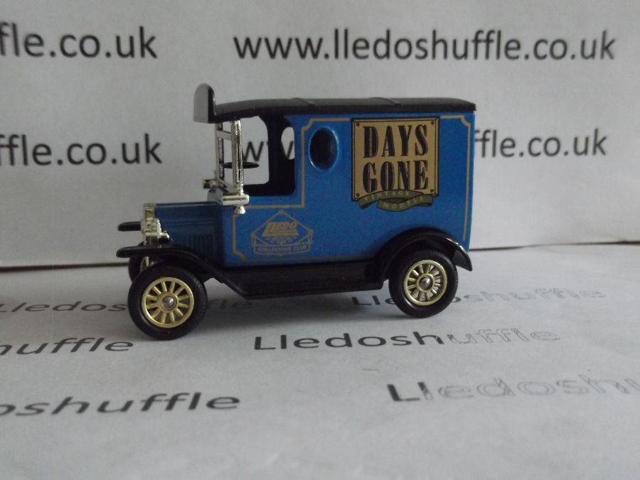 DG06140, Model T Ford Van, Collectors Club 1996