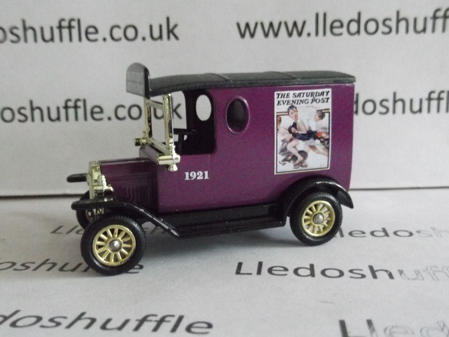 DG06141, Model T Ford Van, Norman Rockwell The Saturday Evening Post 1921