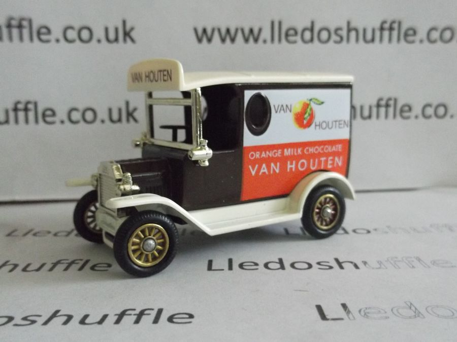 DG06150, Model T Ford Van, Van Houten, Orange Milk Chocolate