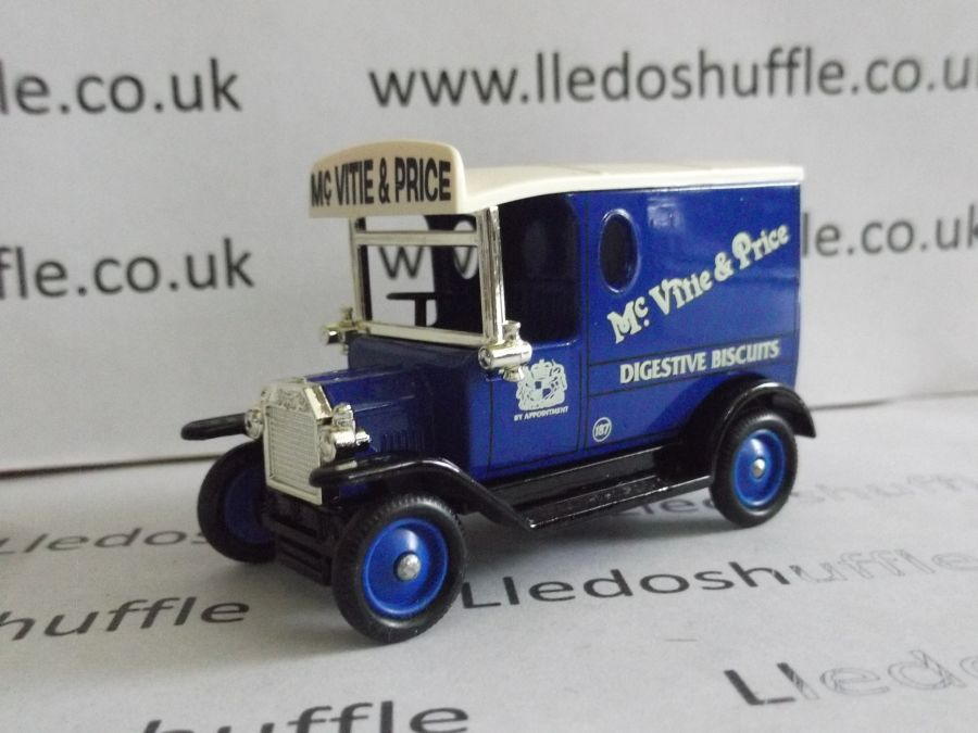 DG06153, Model T Ford Van, McVitie & Price Digestive Biscuits, EKC
