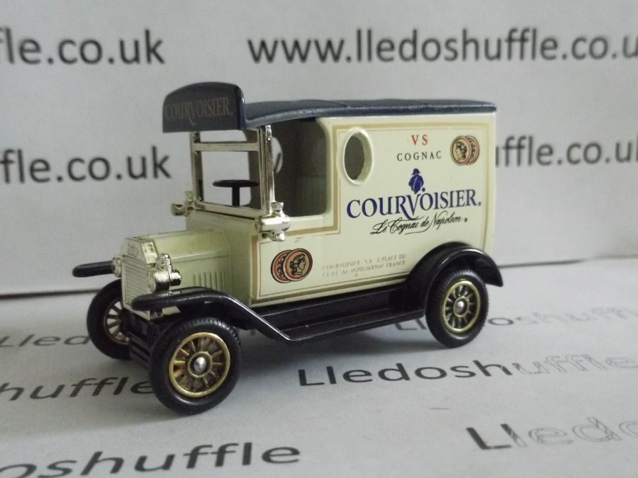 DG06154, Model T Ford Van, Courvoisier