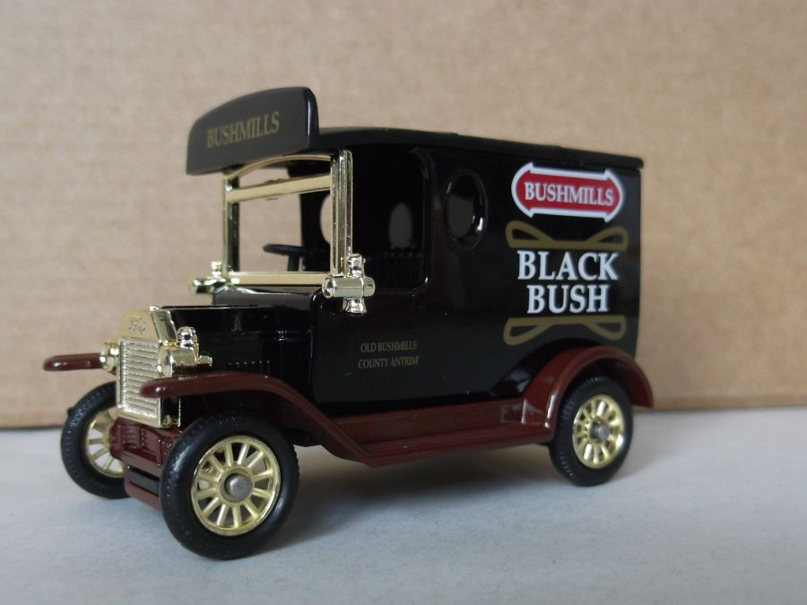 DG06165, Model T Ford Van, Bushmills Black Bush