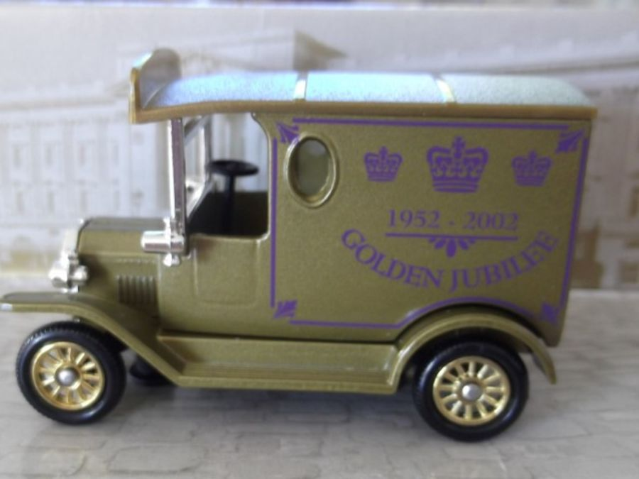 DG06167, Model T Ford Van, Queens Golden Jubilee, 50 Glorious Years