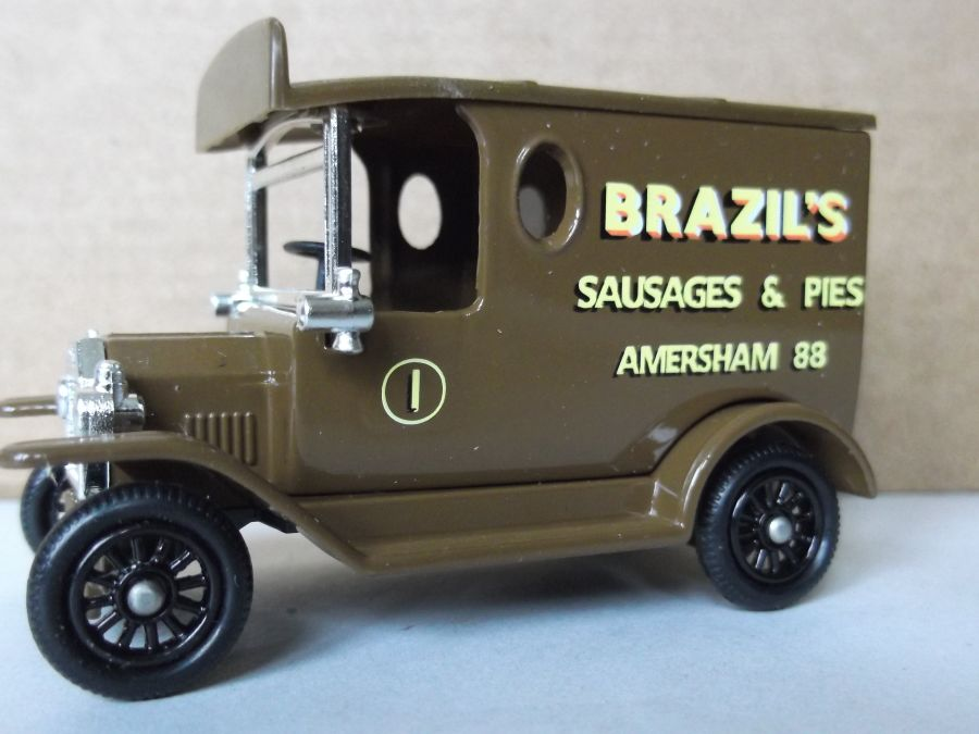 DG06169, Model T Ford Van, Brazils Sausages & Pies