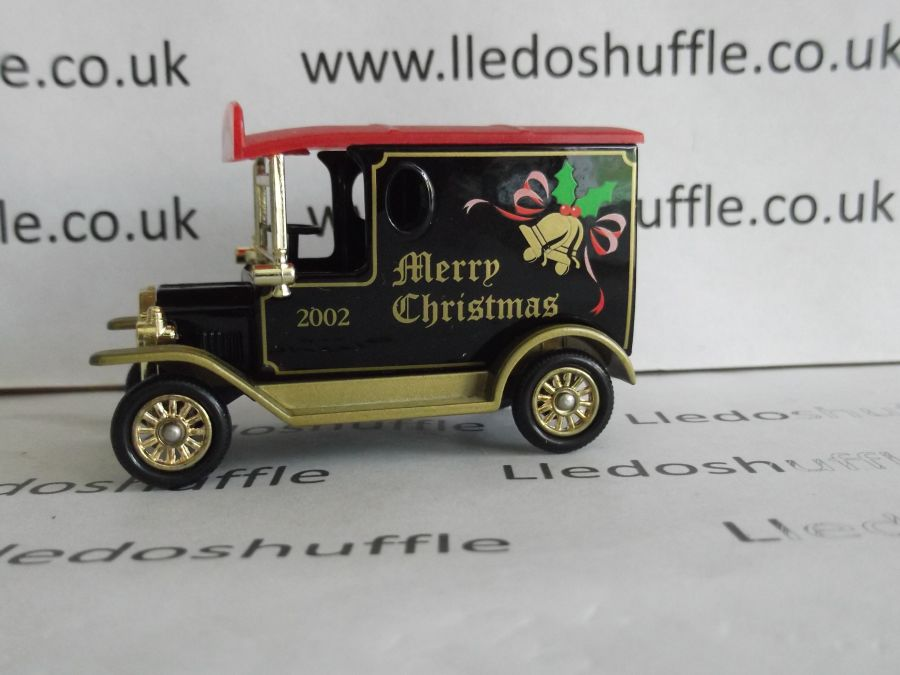 DG06174, Model T Ford Van, Merry Christmas 2002