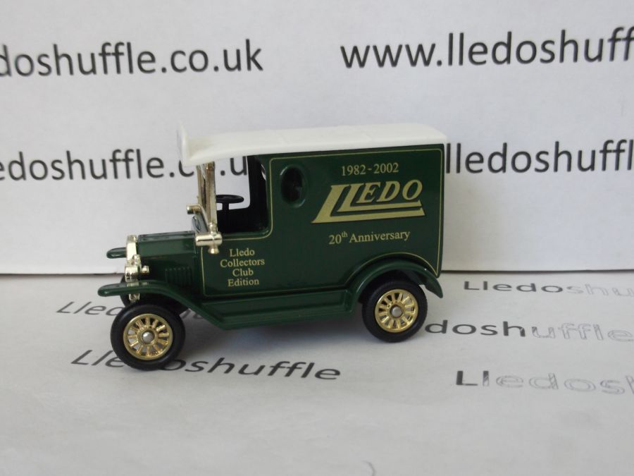 DG06178, Model T Ford Van, Lledo Collectors Club, 20th Anniversary 2002