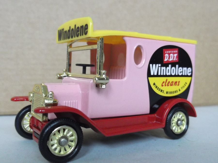 DG06191, Model T Ford Van, Windolene