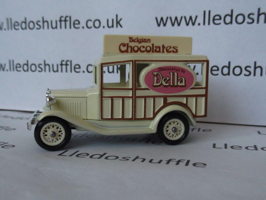 DG07006, Model A Ford Woody Wagon, Della Belgian Chocolates