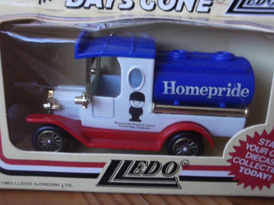 DG08012, Model T Ford Tanker, Homepride Foods, Cambridge