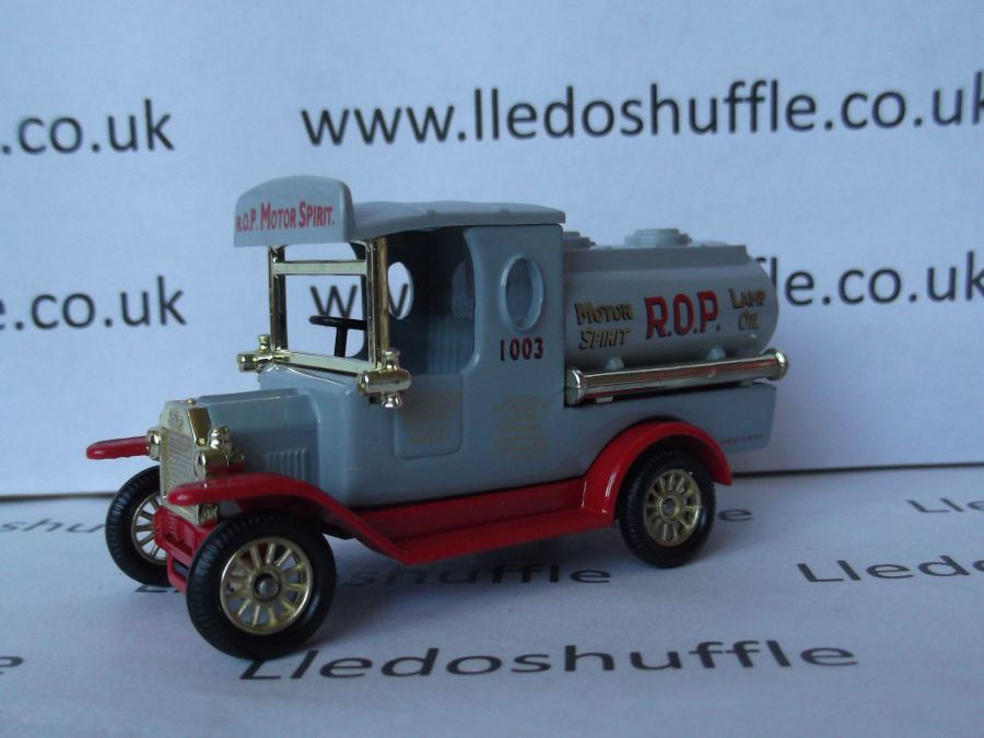 DG08020, Model T Ford Tanker, Russian Oil Products, ROP Motor Spirit