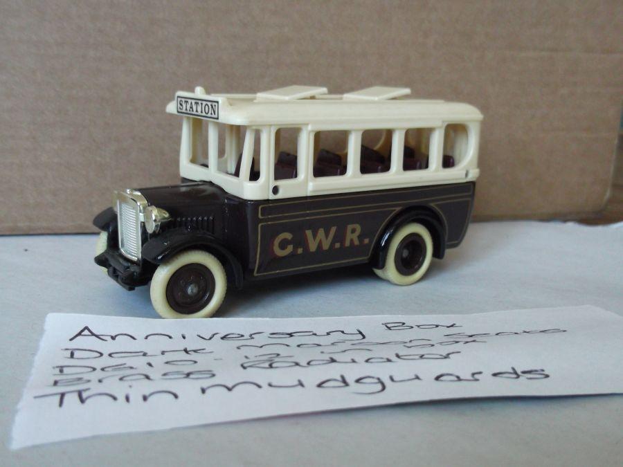 DG10006, Dennis Single Deck Coach, GWR