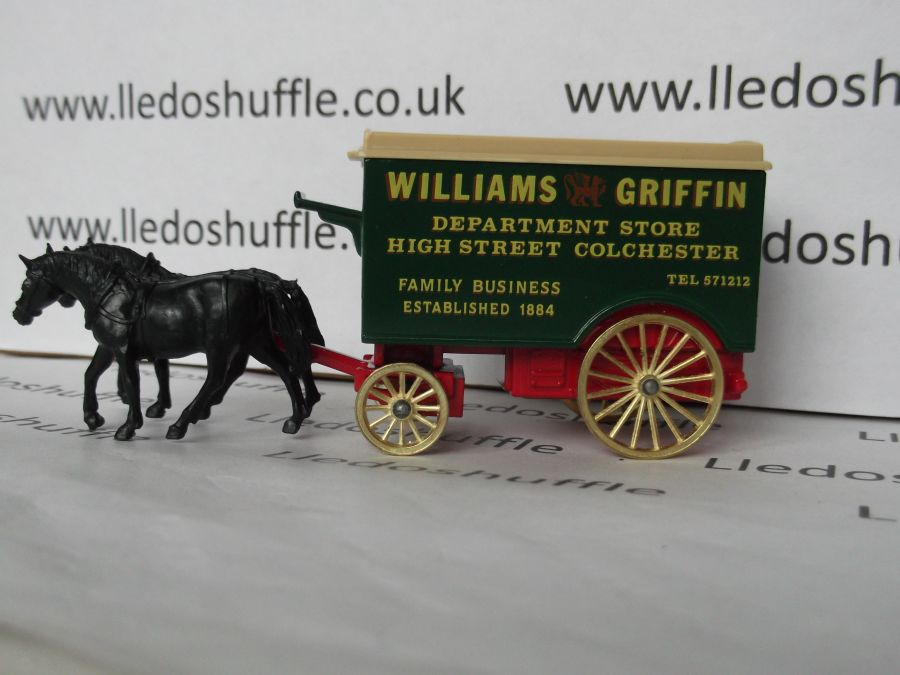 DG11005, Horse Drawn Removal Van, Williams Griffin Department Store, Colchester