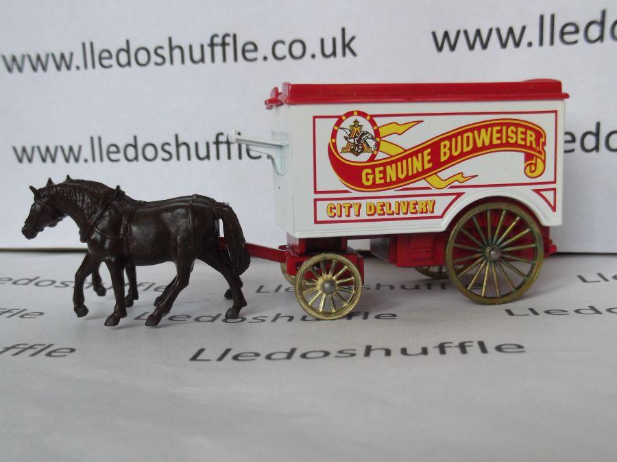 DG11008, Horse Drawn Removal Van, Budweiser