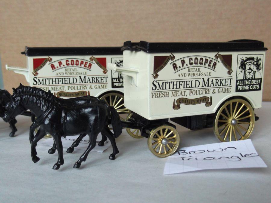 DG11010, Horse Drawn Removal Van, A P Cooper, Smithfield Market