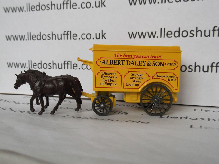 DG11013, Horse Drawn Removal Van, Albert Daley & Son Arthur, Minder TV Series