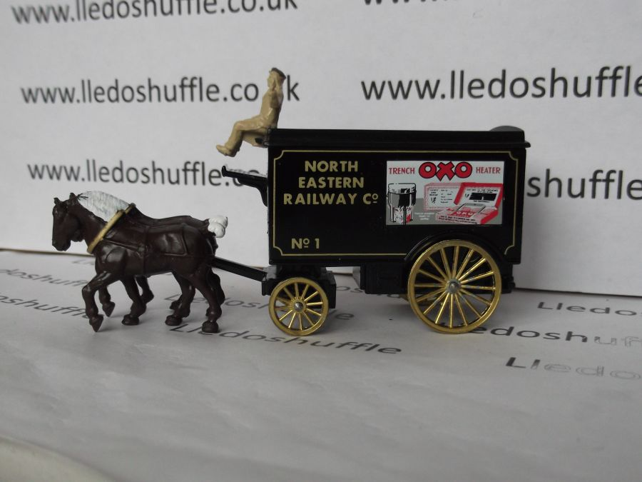 DG11025, Horse Drawn Removal Van, North Eastern Railway, Oxo Trench Heater