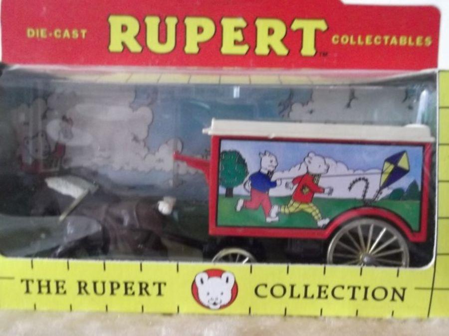 DG11026, Horse Drawn Removal Van, Rupert Bear