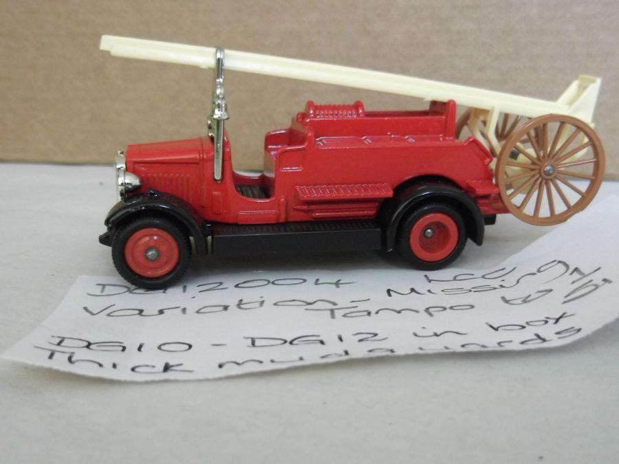DG12004, Dennis Fire Engine, LCC London Fire Brigade, Variation