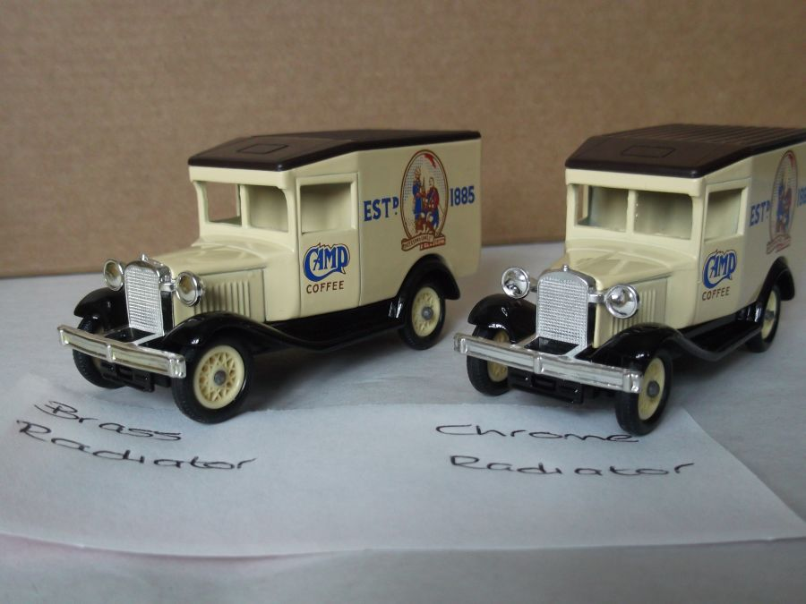 DG13000, Model A Ford Van, Camp Coffee