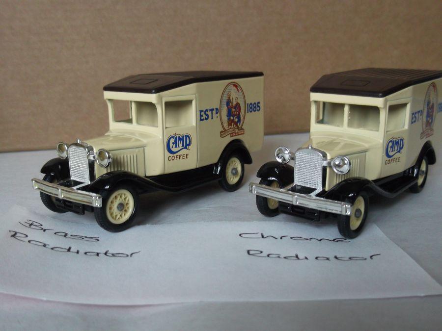 DG13000, Model A Ford Van, Camp Coffee