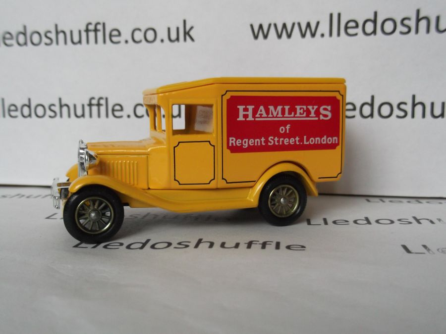 DG13004, Model A Ford Van, Hamleys of Regent St, London