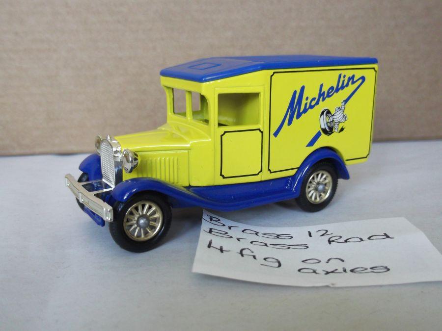 DG13005, Model A Ford Van, Michelin