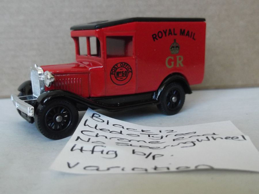 DG13008, Model A Ford Van, Royal Mail GR