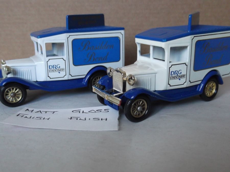 DG13010, Model A Ford Van, Basildon Bond