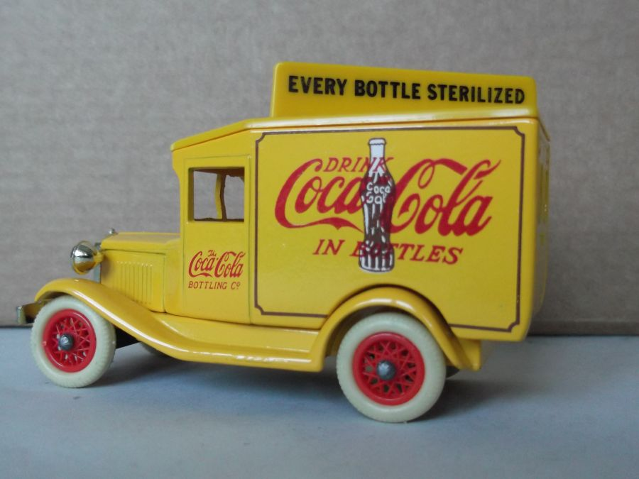 DG13012, Model A Ford Van, Coca Cola