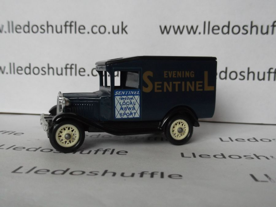 DG13013, Model A Ford Van, Evening Sentinel