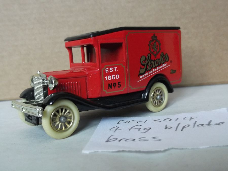 DG13014, Model A Ford Van, Strohs
