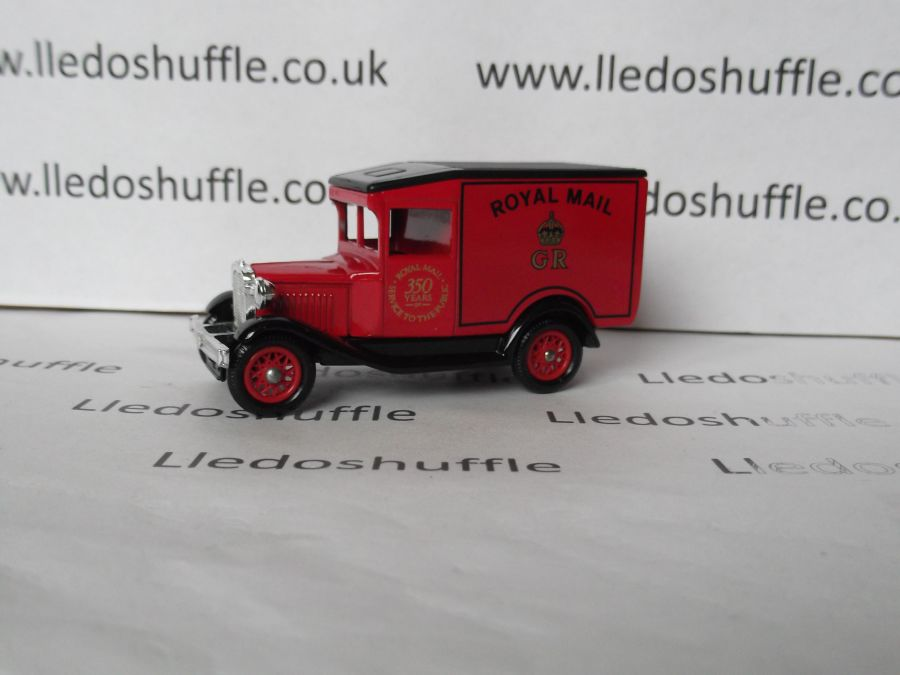 DG13015, Model A Ford Van, Royal Mail 350 years