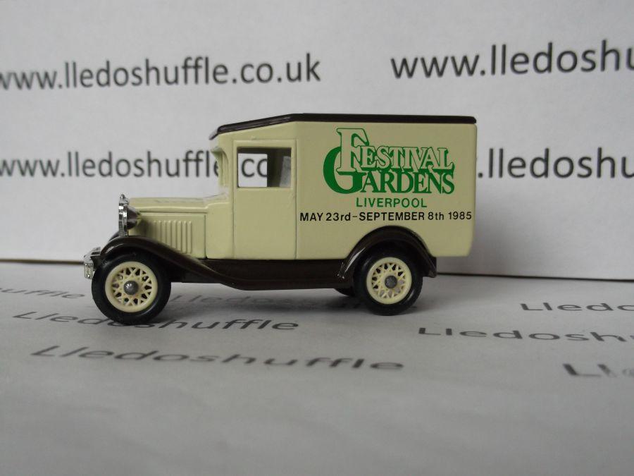 DG13016, Model A Ford Van, Festival Gardens, Liverpool