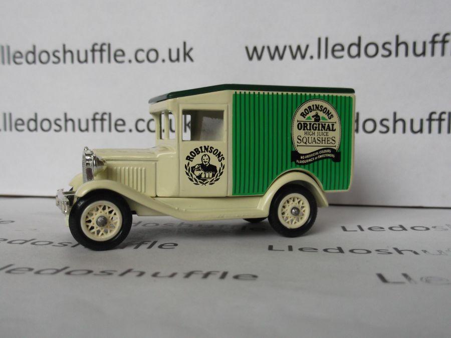 DG13017, Model A Ford Van, Robinsons Original Squashes