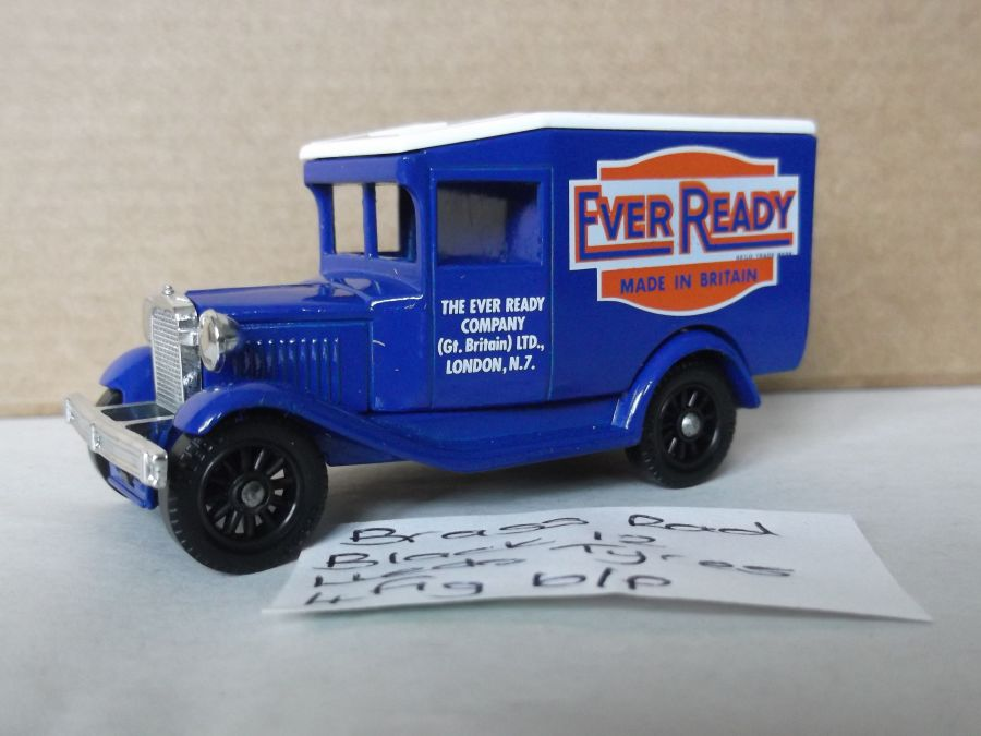 DG13018, Model A Ford Van, Ever Ready