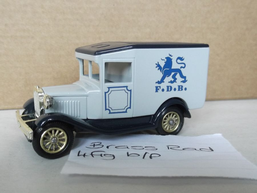 DG13020, Model A Ford Van, F.D.B (Danish)