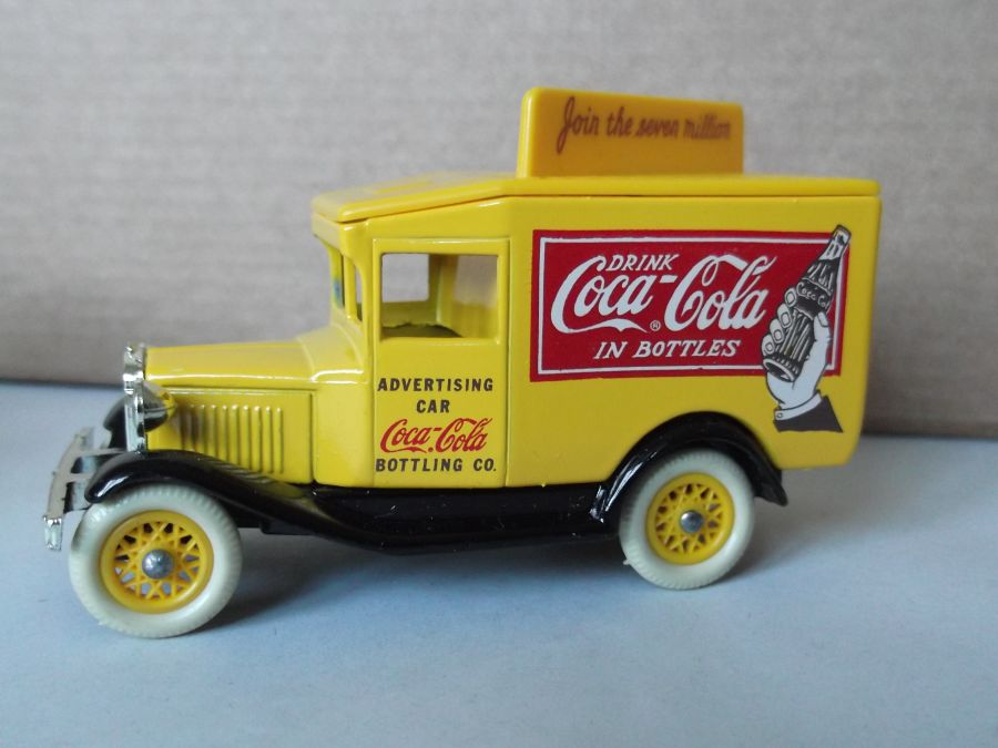 DG13021, Model A Ford Van, Coca Cola, Join the Seven Million