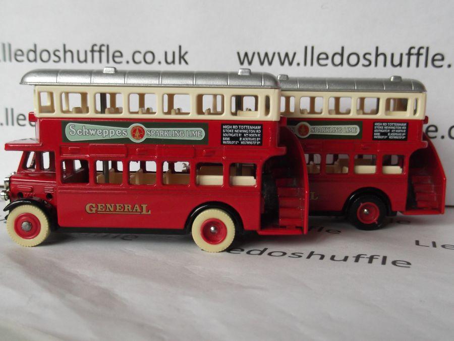 DG15037, AEC Regent Bus, Schweppes Lime Juice