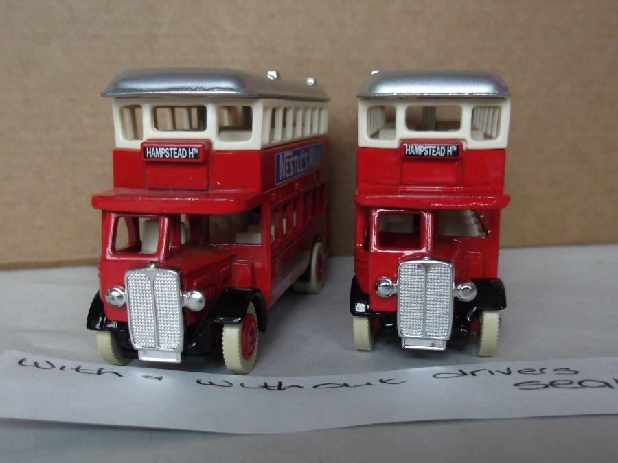 DG15038, AEC Regent Bus, Nestles Milk