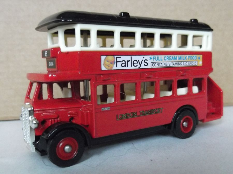 DG15045, AEC Regent Bus, Farleys Full Cream Milk Food