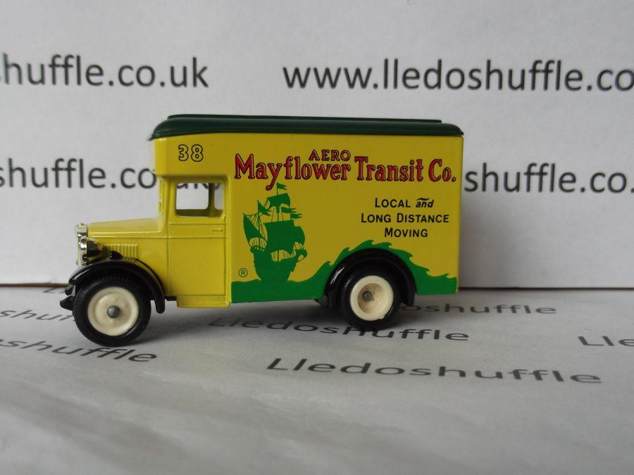 DG16000, Dennis Parcels Van, Aero Mayflower Transit