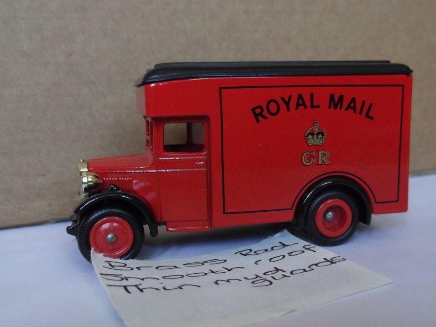 DG16001, Dennis Parcels Van, Royal Mail GR