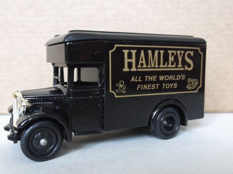 DG16003, Dennis Parcels Van, Hamleys (black)
