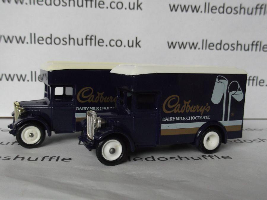 DG16009, Dennis Parcels Van, Cadburys Dairy Milk Chocolate
