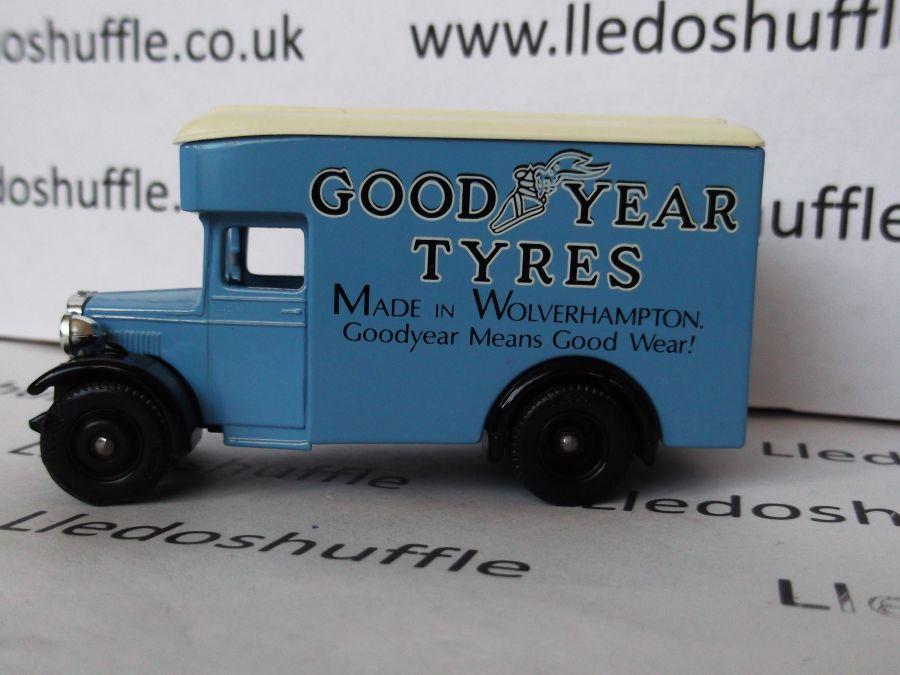 DG16021, Dennis Parcels Van, Good Year Tyres