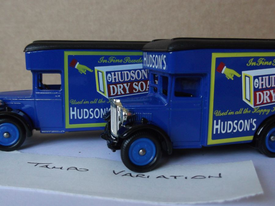 DG16031, Dennis Parcels Van, Hudsons Dry Soap
