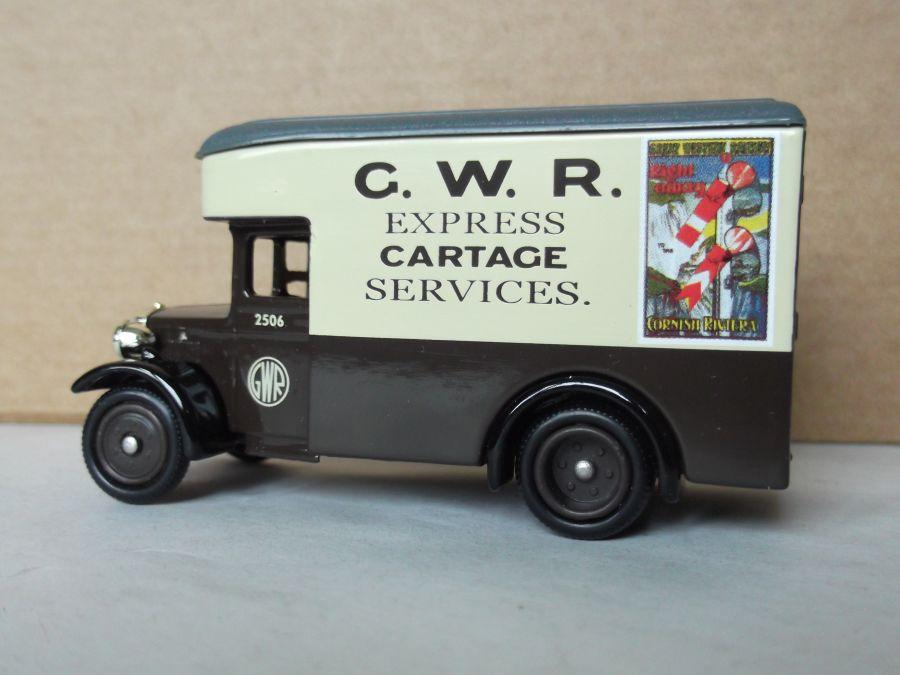 DG16041, Dennis Parcels Van, GWR Express Cartage Services