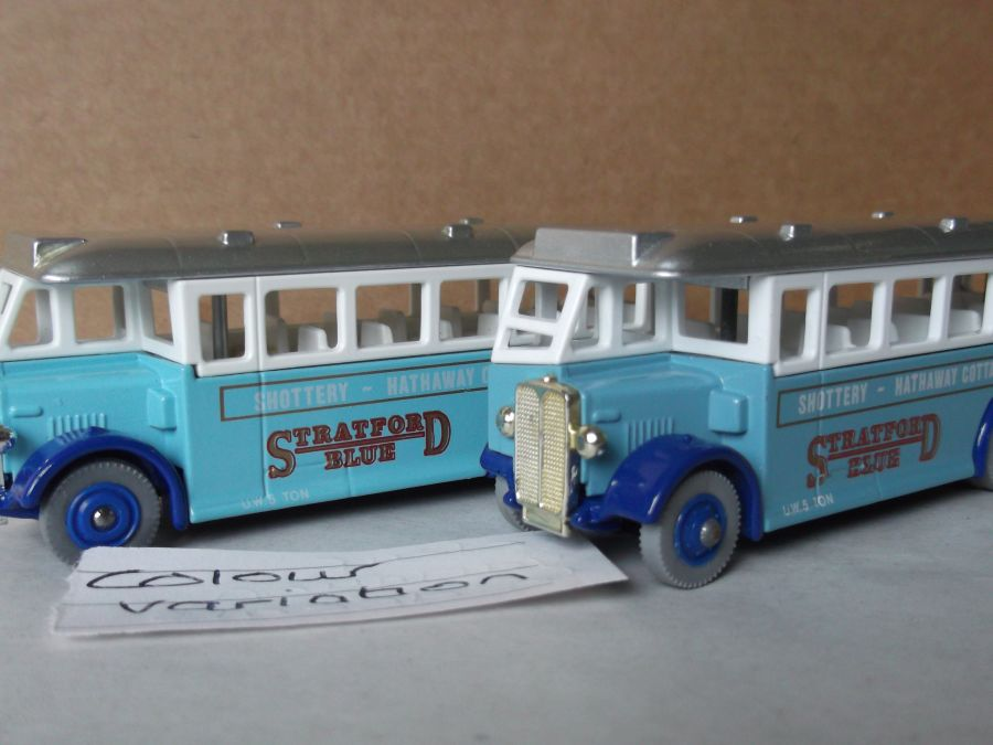 DG17007, AEC Regal Coach, Stratford Blue